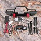 metal front bumper led winch controller tools