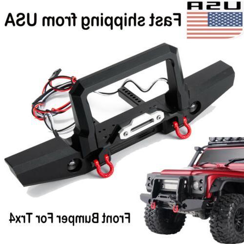 metal front bumper winch mount light tow