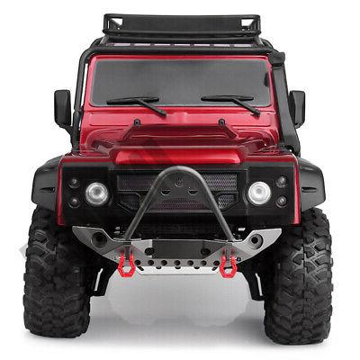 Metal Bumper LED for 1/10 RC Traxxas TRX4 Axial