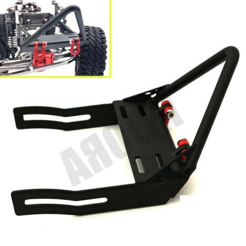 Metal Front Bumper Winch Mount 1:10 RC Crawler