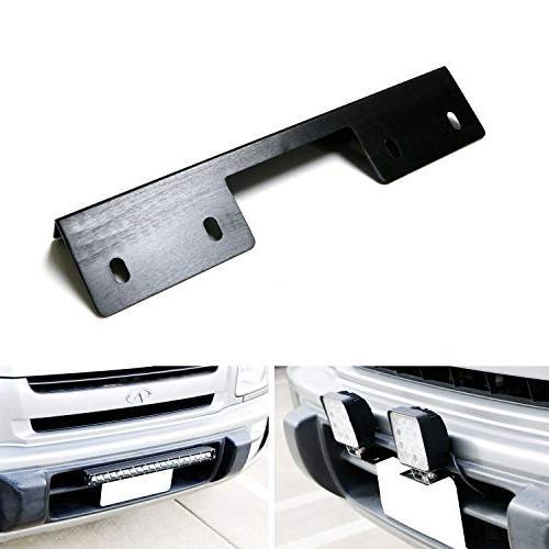 miniature front bumper license plate mount bracket