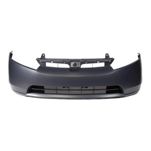 primed plastic 4dr front bumper cover capa