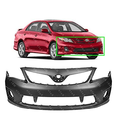 primered front bumper cover fascia for 2011