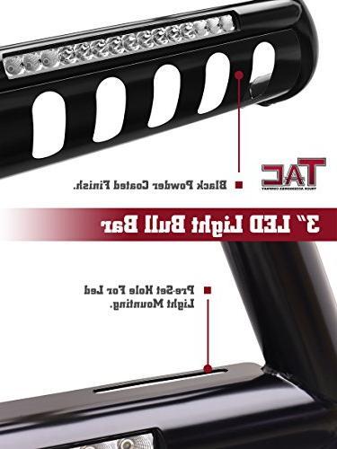 "TAC Lighting Bar Dodge Ram Truck Pickup 3"" Front Bumper Brush Grille with"