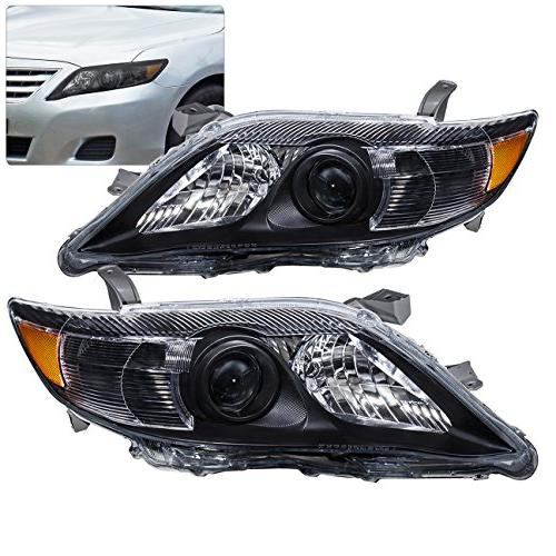 AJP For Camry XV40 Bumper Projector Headlight Upgrade Pair Left Right 10 11