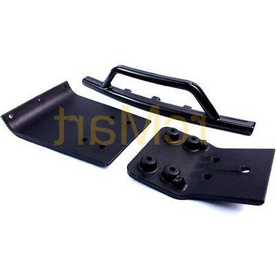 RPM Traxxas Slash 4x4 Front Bumper & Skid Plate Black 1:10 R