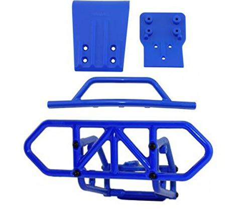 traxxas slash blue front rear