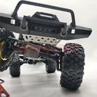 Traxxas TRX-4 Stainless Steel Front Bumper Protector Skid Pl