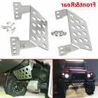 Traxxas-TRX-4-Stainless-Steel-Front-Rear-Skid-Plate-Bumper-L