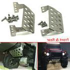 traxxas trx 4 stainless steel front rear