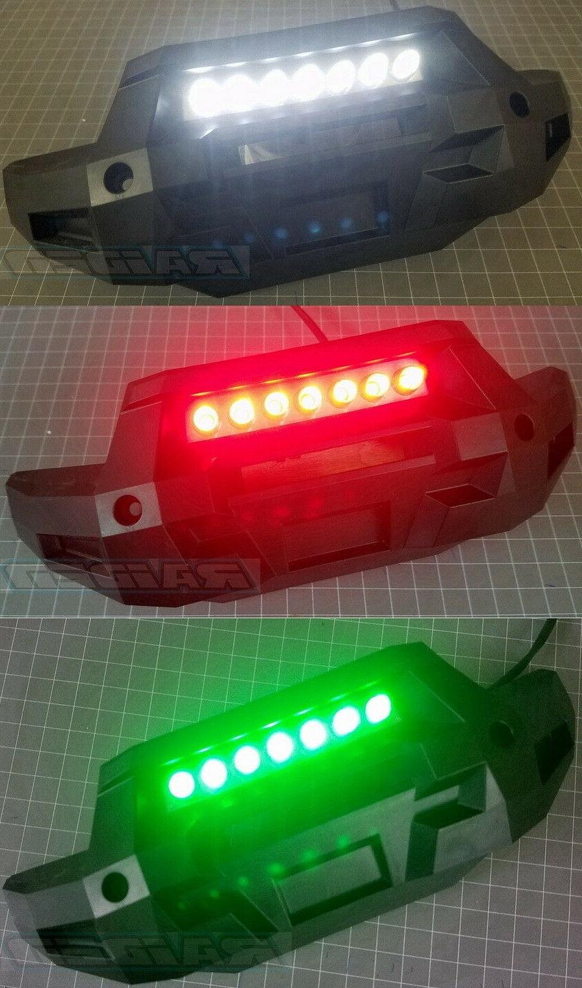 Traxxas X-MAXX X MAXX XMAXX Front Bumper Led Light Bar Lamp
