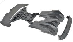 Arrma LIMITLESS 6s - FRONT BUMPER mount splitter skid & Diff