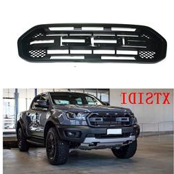 MATTE BLACK MODIFIED GRILLE GRILLS <font><b>FRONT</b></font>
