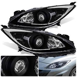 For Mazda 3 Sedan Hatchback Front Bumper Projector Headlight