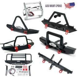 Metal Alloy Front Rear Bumper with Shackles For TRAXXAS TRX-