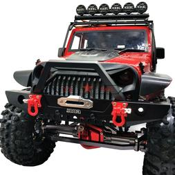 METAL FRONT BUMPER BULL BAR W/ LED FOR 1/10 Traxxas TRX-4 AX
