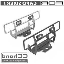 Metal front bumper + spotlight cover for CAPO sixer 1 Suzuki