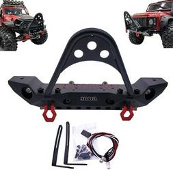 alloy front bumper with led light shackle