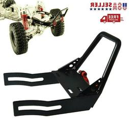 Metal Front Bumper w/ Winch Mount Shackles for 1/10 Axial SC