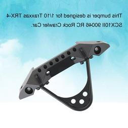 Metal Front Bumper with Light for Traxxas TRX-4 SCX10II 9004