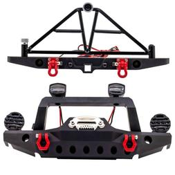 Metal Front Rear Bumper For 1/10 TRX4 Axial SCX10 III AX1030