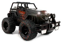 Velocity Toys Mud Monster Jeep Wrangler Convertible Electric