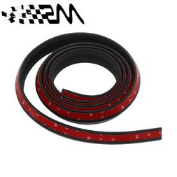 New Carbon fiber Rubber Soft Black <font><b>bumper</b></font