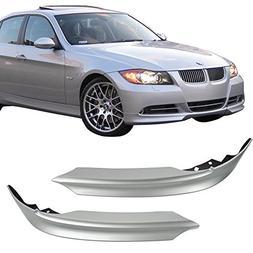 Pre-painted Front Bumper Lip Fits 2005-2008 BMW E90 | OEM Fa
