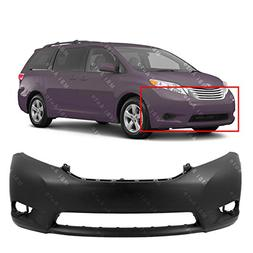 MBI AUTO - Primered, Front Bumper Cover Fascia for 2011-2015