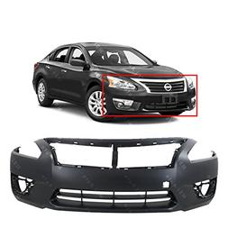 MBI AUTO - Primered, Front Bumper Cover Fascia for 2013 2014