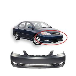 MBI AUTO - Primered, Front Bumper Cover for 2005 2006 2007 2