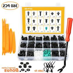EZYKOO Push Bumper Fastener Rivet Clips with 18 Most Popular