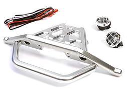 Integy RC Model Hop-ups C26043SILVER Billet Machined Front B