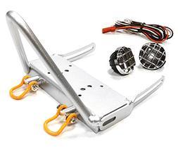 Integy RC Model Hop-ups C26160SILVER Realistic LED Spot Ligh