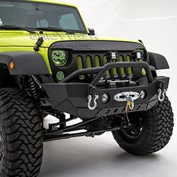 Restyling Factory-Rock Crawler Front Bumper With Fog Lights