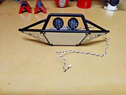 Axial SCX10 II Trail Honcho Front Bumper with LED Lights
