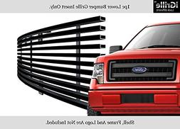 APS Stainless Steel 304 Black Billet Grille Grill Custome Fi
