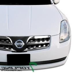 Topline Autopart Chrome/Black JDM Sport Front Hood Bumper Gr
