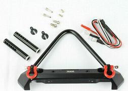 KYX Traxxas TRX-4 / Axial SCX10 / SCX10 II Metal Front Bumpe