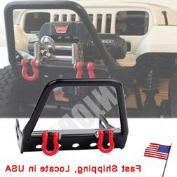 US RC Crawler Aluminum Front Bumper for 1:10 Axial SCX10 w/